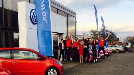 Marriott Motor Group - love local for charity