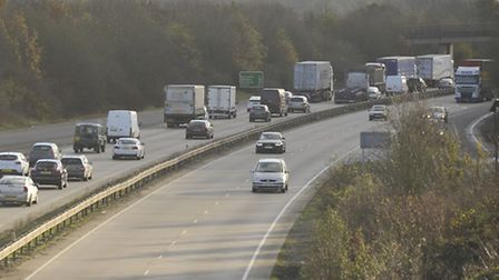 The accident happened on the A12 at Chelmsford