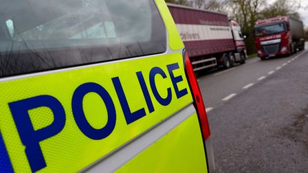 Lorry driver arrested after fatal crash. Library image.