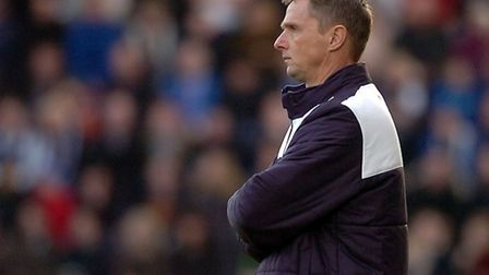 Kevin Keen, no wins in his first seven league games in charge of the U's