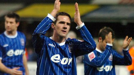 Tommy Miller, pictured in action for Ipswich in 2007