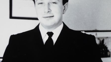 Mr Sutton as a young police officer