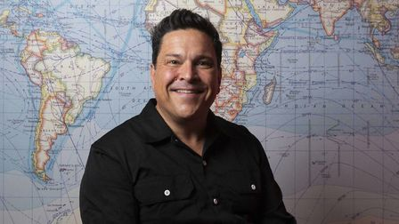 Dom Joly is bringing his show Holiday Snaps to Diss Corn Hall on February 21. Picture: Away With Med