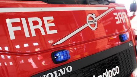 Firefighters attended the scene