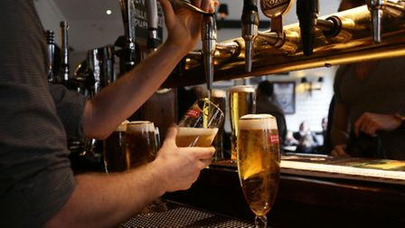 The price of alcohol has pushed inflation up to its highest level for a year.