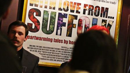 With Love From Suffolk premiere at The Riverside Theatre, Woodbridge. Photo by Dario Vitellini.