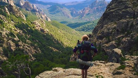 Lucy's solo trek on the GR20 trail acorss Corsica in September 2014