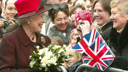 The Queen's visit to Colchester in 2004
