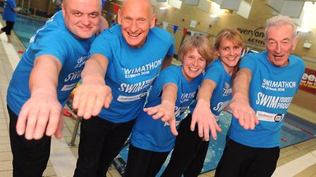 Former Olympic swimmer Duncan Goodhew is special guest at the 25th anniversary celebration of Stradb