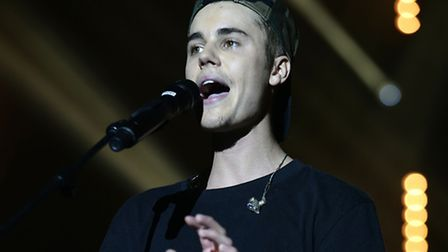Justin Bieber makes his V Festival debut this summer. Photo: Yui Mok/PA Wire