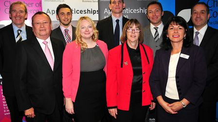 The launch of the Suffolk 500 apprenticeships campaign.