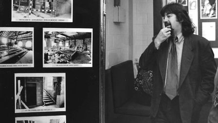 Trevor Nunn at the opening of the Wolsey Studio in October 1992