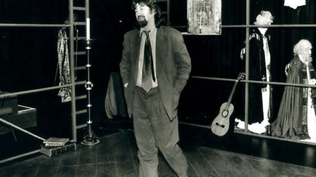 EADT NEWS TREVOR NUNN OPENING THE WOLSEY GALLERY IN 1992 PICTURE EADT