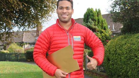 X Factor's Danyl Johnson is one of the faces of People's Postcode Lottery. Picture: People's Postcod