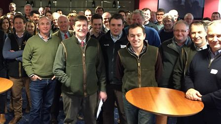 The farmers involved in growing barley for Budweiser beer came together this week for Budweiser's an