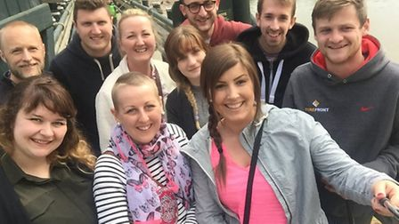 28 year old Bianca (Bee) Carpenter'�s visit to Centre Parcs was funded by cancer recovery charity Wi