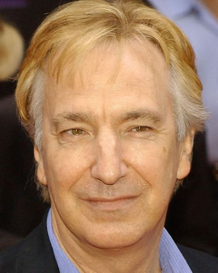 Alan Rickman, who died earlier this year