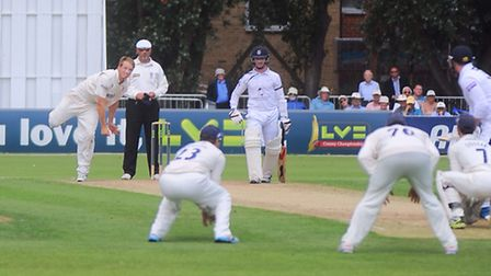 Tom Westley, bowling, is the new vice-captain of Essex
