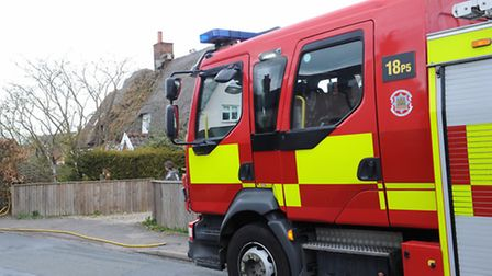 One fire crew was called to the blaze. Photo: ARCHANT LIBRARY