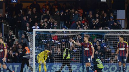Bartosz Bialkowski is finally beaten at QPR on Saturday in the 87th minute