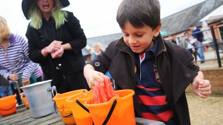 Events from apple bobbing to spooky slime will be among the Halloween fun and games. Picture: Sonya