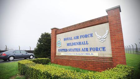 RAF Mildenhall is due to close in four years.