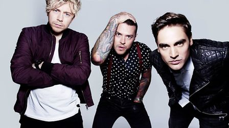 Busted - James Bourne, Matt Willis and Charlie Simpson