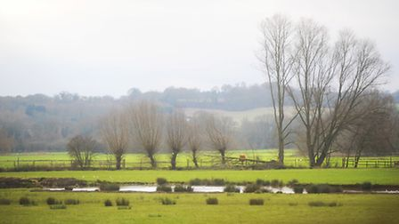 A view across the Sudbury water meadows in the heart of Gainsborough country