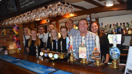 The Kings Head in Bawburgh that was named Community Pub of the Year 2019. Picture: South Nofolk Coun