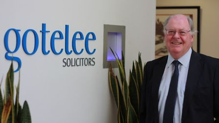Alistair Lang, chief executive of Gotelee Solicitors.