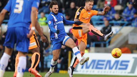 George Moncur, pictured in action for the U's, has Colchester's clergy rooting for him.