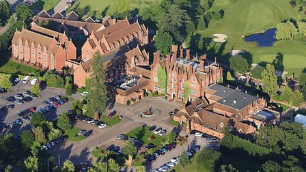 Sited off the Ipswich road outside Norwich, Dunston Hall is now a luxury hotel set in 150 acres, whi