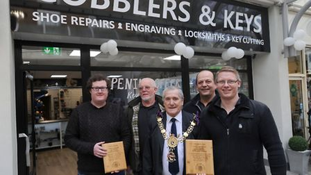 Cobblers and Keys opens its new premises in Borehamgate in Sudbury. Their previous shop was destroye