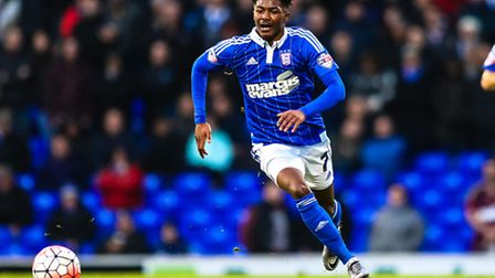 Ainsley Maitland-Niles starts for Ipswich Town tonight