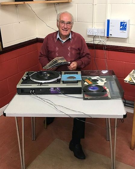 Bob Shields even played the records at the party marking his 40 years as chairman of the Taylor Road