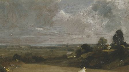 Dedham from Langham, John Constable, 1813 Oil paint on canvas Photo: Tate Gallery