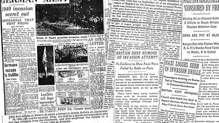 Newspaper cuttings about the Shingle Street claims