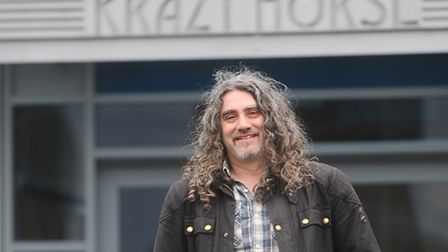 Paul Beamish of Krazy Horse in Bury St Edmunds.