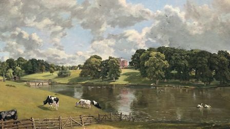 John Constable painting of Wivenhoe House