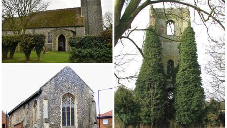 Also at risk: Church of St Mary in Forncet; County Library/Beckets Chapel in Wymondham; and Tower of