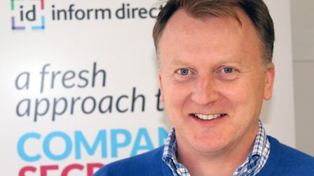 Henry Catchpole, managing director of Inform Direct.