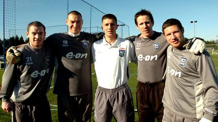 The five signings before the January deadline in 2008. Alan Quinn, Stephen Bywater, Velice Sumulikos