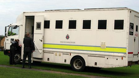 Seven people detained after immigration raid. Library image.