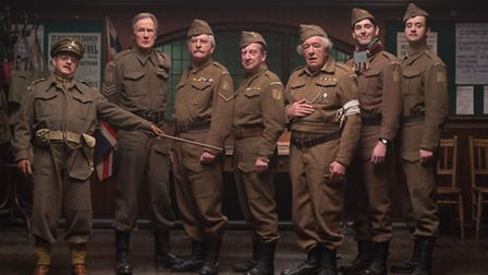 Then and Now: The cast of the new Dad's Army film starring Toby Jones, Bill Nighy, Tom Courtenay, Bi