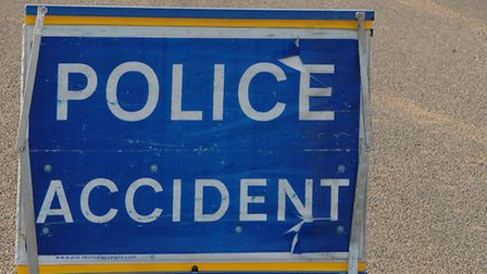 A12 delays following central reservation crash