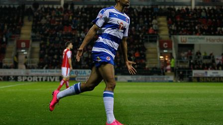 Nick Blackman has left for Derby