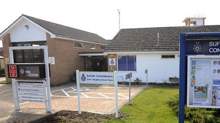 Many Suffolk towns, like Framlingham, have a joint fire and police station.