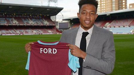 Sam Ford has signed for West Ham after being released by Ipswich Town. PHOTO: West Ham Utd