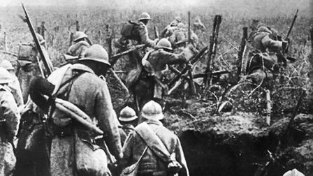 The reality of life at Verdun, where the French came under severe pressure