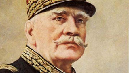 French commander in chief General Joffre, who wanted the allies to co-ordinate their efforts on the